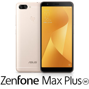 ZB570TL-GD32S4 エイスース ASUS ZenFone Max Plus (M1) サンライトゴールド 5.7インチ SIMフリ...