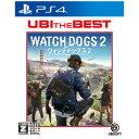 【PS4】ユービーアイ・ザ・ベスト ウォッチドッグス2 ユービーアイソフト [PLJM-16175 ウォッチドッグス2 ベスト]