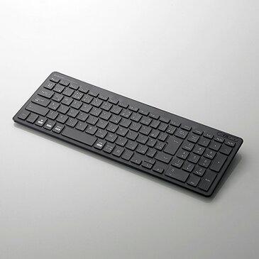 TK-FBP101BK エレコム Bluetooth 薄型コンパクトキーボード(ブラック)