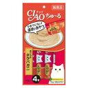 CIAO ちゅ〜る まぐろ&タラバガニ入り 14g×4本 チ...