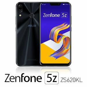 ZS620KL-BK128S6 エイスース ASUS ZenFone 5Z (ZS620KL) シャイニーブラック 6.2インチ SIMフリ...