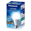 LDA4DGEW パナソニック LED電球 一般電球形 485lm相当(昼光色相当) Panasonic [LDA4DGEW]