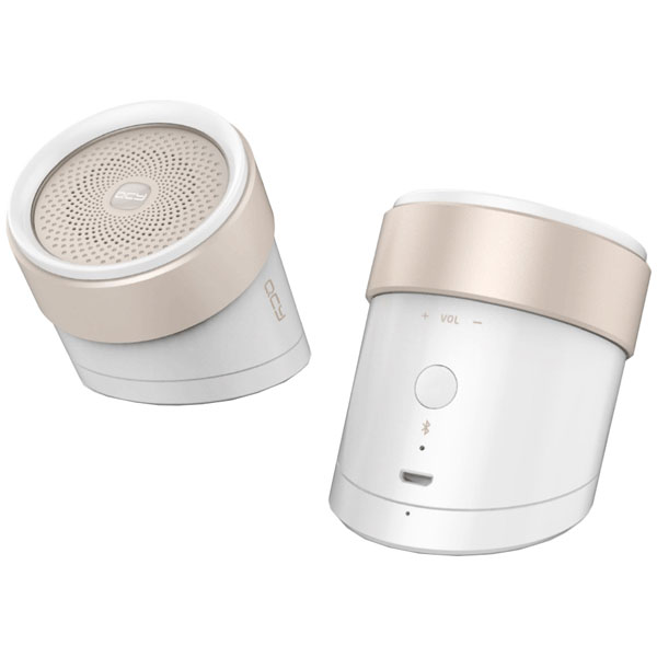 QCY-BOX1WH QCY Bluetoothワイヤレススピーカー(ホワイト) QCY [QCYBOX1WH]