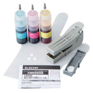 PCサプライ・消耗品, インクカートリッジ THC-381CSET4 3