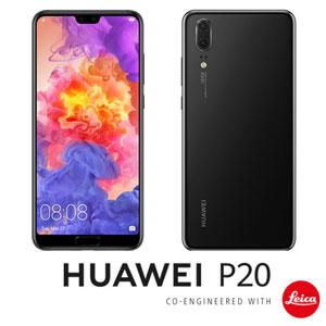 EML-L29-BK HUAWEI HUAWEI P20 ブラック 5.8インチ SIMフリースマートフォン[メモリ 4GB/ストレ...