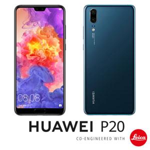 EML-L29-BL HUAWEI HUAWEI P20 ミッドナイトブルー 5.8インチ SIMフリースマートフォン[メモリ ...