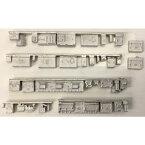 [鉄道模型]レールクラフト阿波座 (N) RCA-Y23 南海2000系床下機器パーツ(鉄コレ用・2両編成用)