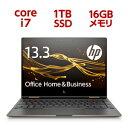 3WH38PA-AAAA HP(ヒューレット・パッカード) 13.3型 2-in-1 パソコン HP Spectre x360 13-ae524TU G1 [Core i7/メモリ 16GB/SSD 1TB/Office H&B Premium]