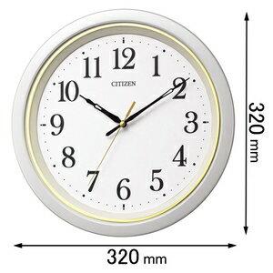 8MYA43-003 シチズン 電波掛け時計 CITIZEN [8MYA43003]【返品種別A】