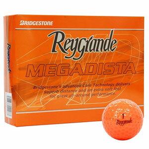 RG MEGADISTA OR 12P ブリヂストンゴルフ ゴルフボール レイグランデMEGADISTA 1ダース 12個入り(オレンジ) BRIDGESTONE