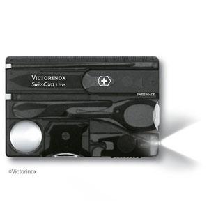 0.7333.T3 ビクトリノックス マルチツール スイスカードライト(ブラックトランスペアレント) VICTORINOX