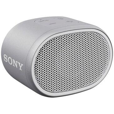 SRS-XB01/W ソニー ワイヤレスポータブルスピーカー(ホワイト) SONY