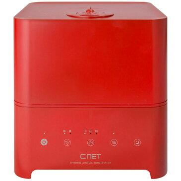 CKH401RD シィー・ネット ハイブリッド式(加熱+超音波)加湿器(木造6畳まで/プレハブ洋室10畳まで レッド) C:NET [CKH401RD]
