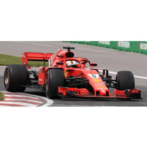 車, ミニカー・トイカー 143 Scuderia Ferrari SF71H No.5 Winner Canadian GP 2018LSF1015 LOOKSMART