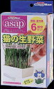 asap猫の生野菜 6回分 ドギーマンハヤシ ASAPネコノナマヤサイ6P 1