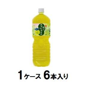 コカコーラ 綾鷹 茶葉のあまみ 2000ml×6