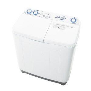(標準設置料込)AQW-N60-W アクア 6.0kg 2槽式洗濯機 ホワイト AQUA