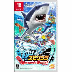 【Switch】釣りスピリッツ Nintendo Switchバージョン バンダイナムコエンターテインメント [HAC-P-AS4HA NSW ツリスピリッツ]