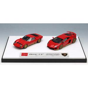 車, ミニカー・トイカー 143 Lamborghini Superveloce set EMCOF012A