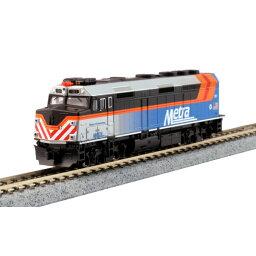 [鉄道模型]ホビーセンターカトー 【再生産】(Nゲージ) 176-9106 F40PH シカゴ・メトラ 新塗装 #181 シャンバーグ