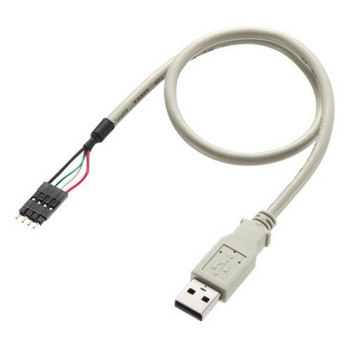 TK-USB1 サンワサプライ マザーボード用 USBコネクタ変換ケーブル