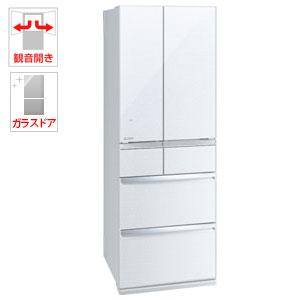 (標準設置料込)MR-WX47E-W 三菱 470L 6ドア冷蔵庫(クリスタルホワイト) MISTUBISHI WXシリーズ