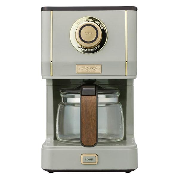 K-CM5-GE ラドンナ コーヒーメーカー グレージュ LADONNA Toffy アロマドリップコーヒーメーカー [KCM5GE]