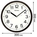 KX-249-K セイコークロック 電波掛け時計 SEIKO [KX249K]【返品種別A】【送料無料】