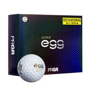 GB1031プロギア高反発・非公認球ゴルフボール1ダース12個入りNEWSUPEReggBALL