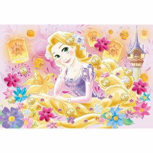 パズルデコレーションミニ ディズニー ラプンツェル/マジカル・ランタン 70ピース エポック社 【Disneyzone】