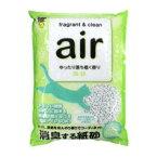 air 消臭する紙砂 森林 6.5L スーパーキャット AIRカミスナシンリン6.5L