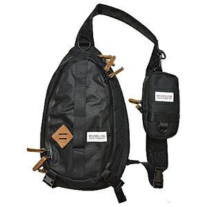 ミニマリズム ショルダーバッグ(ブラック) TICT ミニマリズム ショルダーバッグ(ブラック) ティクト MINIMALISM タックルバッグ