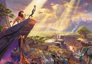 パズル, ジグソーパズル  The Lion King 1000 Disneyzone