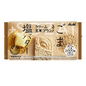 アサヒグループ食品 クリーム玄米ブラン ごま&塩バター 1セット(12個) 栄養調整食品