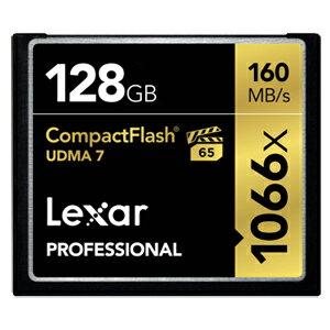LCF128CRBAP1066 LEXAR(レキサー) コンパクトフラッシュ 128GB Professional 1066x CompactFlash