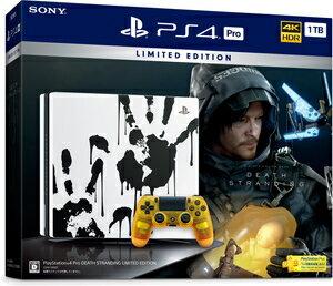 PlayStation 4 Pro DEATH STRANDING LIMITED EDITION ソニー・インタラクティブエンタテインメント [CUHJ10033 PS4Pro デスストランディング ゲンテイ]