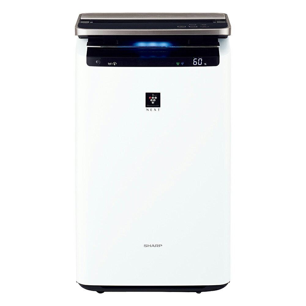 KI-LP100-W シャープ 空気清浄機【加湿機能付】(空清46畳まで/加湿41畳まで ホワイト系) SHARP 「プラズマクラスターNEXT」搭載 [KILP100W]