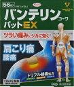 【第2類医薬品】【数量限定】バンテリンコーワパットEX 56