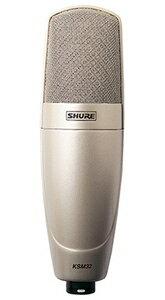 シュアー SHURE KSM32SL-X シャンパンゴールド ボーカル 楽器用コンデンサー型マイクロホン