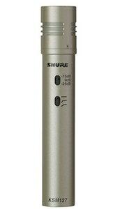 シュアー SHURE KSM137SL-STEREO-X 楽器用コンデンサー型マイクロホン
