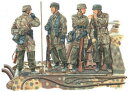 """1/35 WW.II 第3降下猟兵師団 """"アルデンヌ1944"""" パート2【DR6143】 プラモデル ドラゴンモデル"""