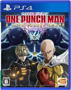 プレイステーション4, ソフト PS4ONE PUNCH MAN A HERO NOBODY KNOWS PLJS-36117 PS4