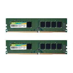 SP016GBLFU266B22 シリコンパワー PC4-21300 (DDR4-2666)288pin Non-ECC Unbuffered DIMM 16GB(8GB×2枚)