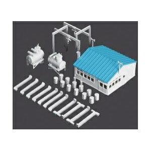 工場 付帯施設 着色済み 品番:2604