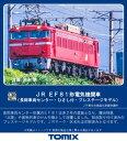[鉄道模型]トミックス (HO) HO-2514 JR EF81形電気機関車(長岡車両センター・ひさし付・プレステージモデル) - Joshin web 家電とPCの大型専門店