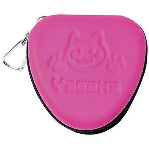 バタフライ ヤサカ(Yasaka) Yasaka 卓球アクセサリー CAT BALL CASE II にゃんこボールケースII H146 ピンク(25)