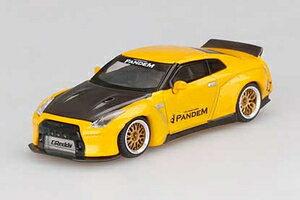 車, ミニカー・トイカー 164 Pandem Nissan GT-R R35 ()MGT00124-L MINIGT