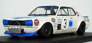 車, ミニカー・トイカー 118 Nissan Skyline 2000 GT-R (KPGC10) (3) 1971 Fuji Masters 250kmIG2018 ignition