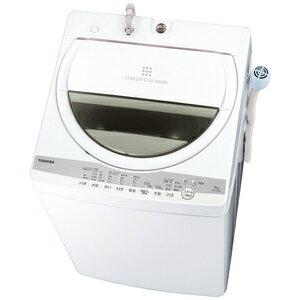 最大1000円OFF■ クーポン5/1023:59迄 (標準設置料込)洗濯機一人暮らし6kgAW-6G9-W東芝6.0kg全自