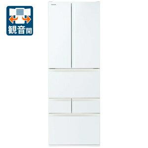 (標準設置料込)冷蔵庫 東芝 大型 GR-S510FK-EW 東芝 509L 6ドア冷蔵庫(グランホワイト) TOSHIBA VEGETA FKシリーズ [GRS510FKEW]